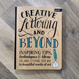 Creative Lettering and Beyond Art Book